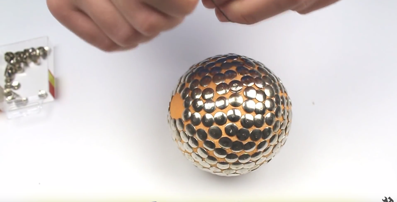 how to make a silver ball