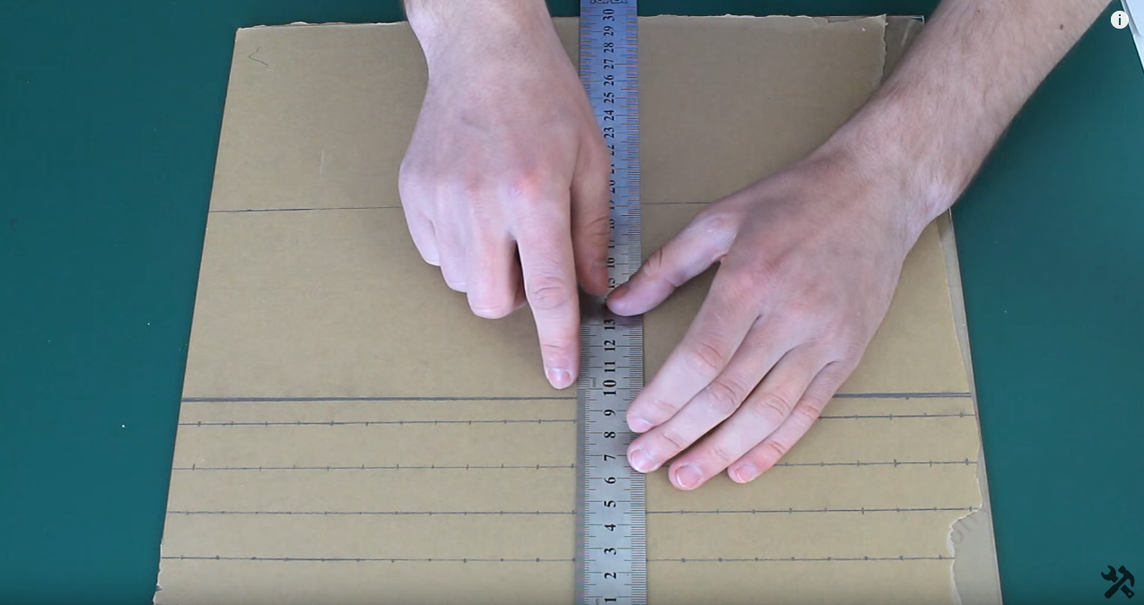 How to make a tip stick display stand for nail art with your hands ...