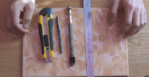How to cut tile without tile cutter