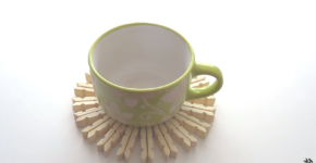 How to make a table-mat with pegs