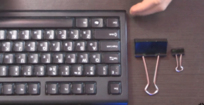 How to substitute broken keyboard legs
