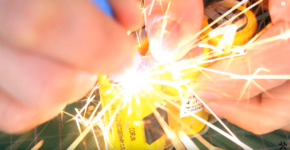 How to make a spot (contact) welding