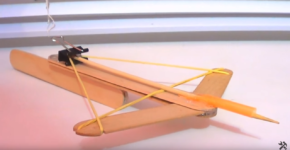 How to make a home made mini crossbow